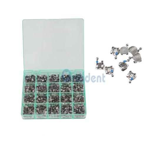1000 Pcs/Box Dental Braces Metal Brackets Split Welding Brace Bracket Mesh Base Mini Roth/MBT/Edgewise 022 Hooks 345