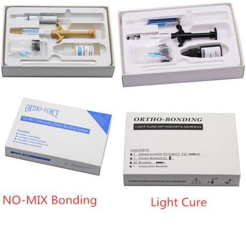 Dental Orthodontic NO-MIX Direct Bonding System Orthodo Bonding Light Cure Orthodontic Adhesive