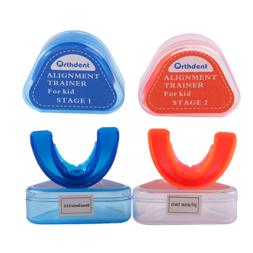 Dental Retainer Mouth Guard Case Teeth Trainer Braces Children Invisalign Food-grade Medical Grade Silicone Dentistry Aligners