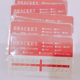 20 Pcs/Set Dental Ceramic Brackets Braces Mini Roth/MBT 022 Hooks 345