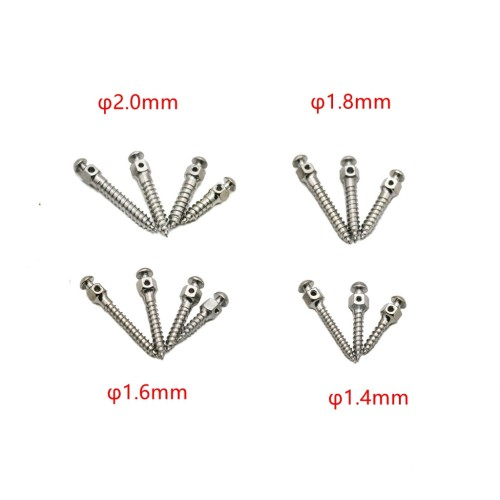 1Pcs Dental Orthodontic Mini Micro Implants Screw Stainless Steel Self-Drilling 15 Sizes