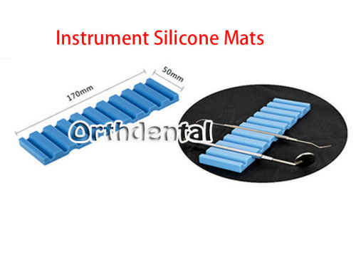 Dental Instrument Holder Non-slip Silicone Mats Dental Clinic 4 Colors Available