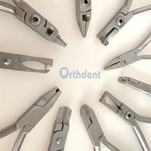 Orthdent 1 Pc Dental Plier Instruments Orthodontic Braces Wire Steel Bending Loop Forming 10 Sizes Choose