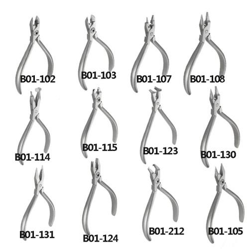 1Pc Dental Professional Dental Pliers Orthodontic Braces Wire Bending Loop Forming