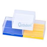 Dental Plastic Bur Holder Burs Block Case Box 24 Holes Burs for Dentist