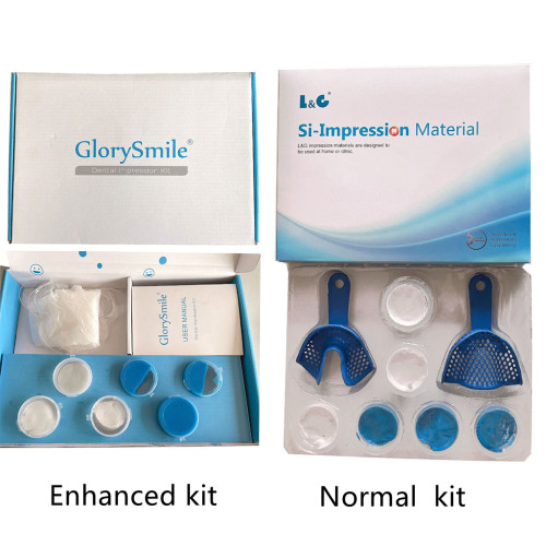 Dental Teeth Impression Kit Teeth Molding Kit Teeth Impression with Putty Silicone Material