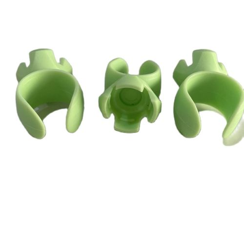 20 Pcs/Bag Dental Bowl Cup Ring Mixing Disposable Silicone Rubber Finger Handy Dappen Dish