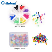 Dental Mix Color Code Rings Marker Autoclave Silicone Colorful Recognition Orthodontics Dentistry Instruments