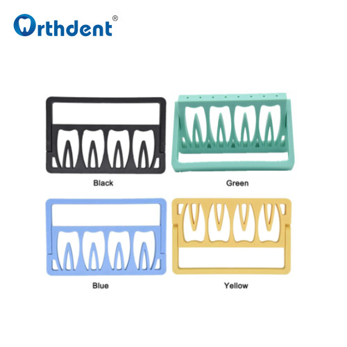 1Pcs 8 Holes Dental Files Holder Endodontic Drill Stander Root Canal File Autoclave Instrument Dentistry Tool
