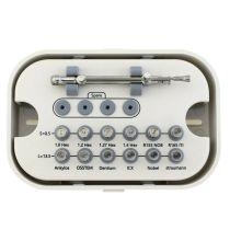 Orthdent 1Set Dental Implant Tool Kit Dentistry Universal Hand Driver Implant Torque Screwdrivers Wrench Dentist Dental Implant