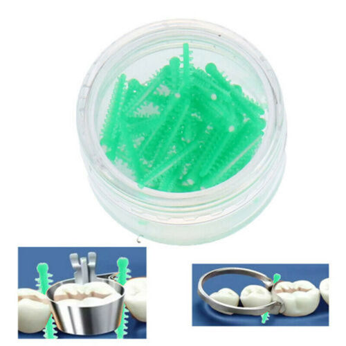 Dental Interdental Wedges Dentistry Adaptive Wedge Autoclave Medical Silicone Sectional Matrix System Dentist Materials