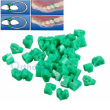 40Pcs/Bag Dental Orthodontic Add-On Silicone Wedges Silicone Rubber TOR VM No 1.861 Teeth Filling Mentor Implant Tooth Braces