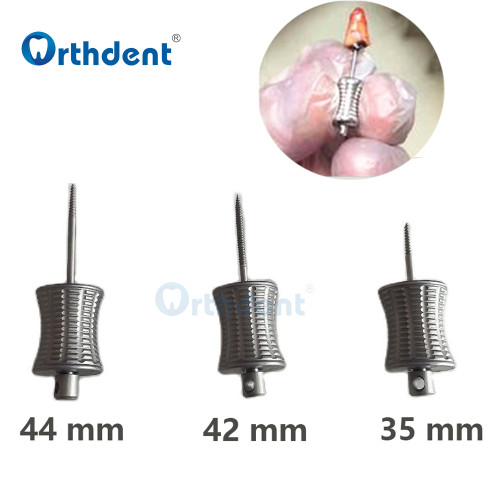 Orthdent 3Pcs/Box Dental Broken Root Drill Remnant Extractor Extraction Apical Root Fragments Drill Dental Materials Tools Bur