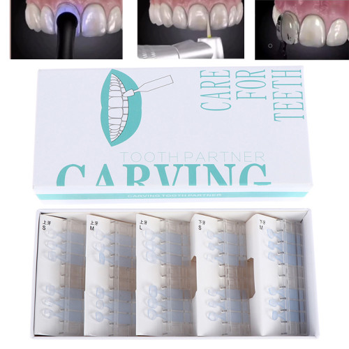 Orthdent 30 Pcs/Box Dental Composite Resin Mould Light Cure Filling Instrument Anterior Teeth Fast Aesthetic Printing Model Orthodontic