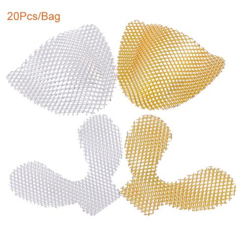 Orthdent 20Pcs/Bag Dental Impression Metal Net Tray Strengthen Upper/Lower Teeth 2Colors Dental Denture impression Kit materials