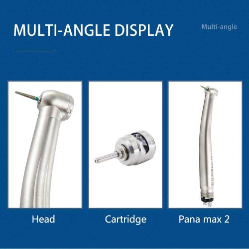 1Pcs NSK Style Dental High Speed Handpiece Air Turbine Push Button PANA Max 2 M4 B2 Oral Therapy Equipments Dentistry Lab Tools