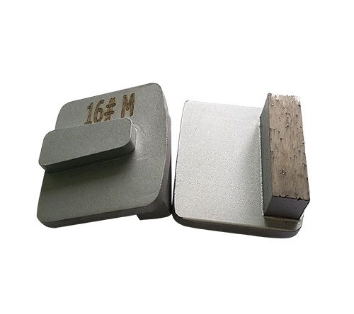 Husqvarna Redi-Lock System Metal Bond Tooling with Single Segment
