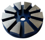 3-inch Metal Bond Diamond Floor Grinding Discs–Velcro Backed