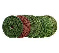 4-inch Wet Diamond Flexible Polishing Pad-Lattice-Professional Quality