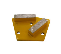 Trapezoid Diamond Grinding Tool with 9mm-diameter holes for Magnetic System