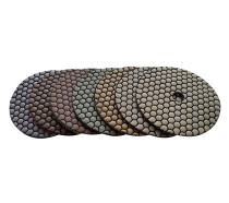 4-inch Dry Diamond Flexible Polishing Pad-Honeycomb-Professional Quality
