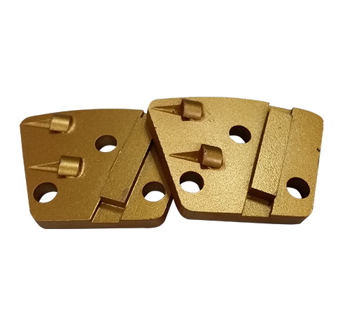 Trapezoid PCD Head with 9mm Holes for Magnetic System