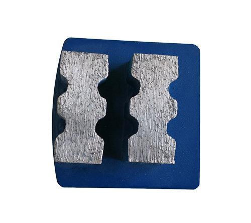 Husqvarna Redi-Lock System Metal Bond Diamond Tool with Double Tooth-shape segments