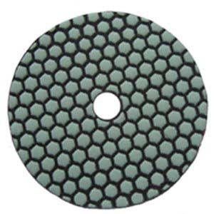 5-inch Honeycomb Dry Diamond Flexible Polishing Pad-Professional Quality