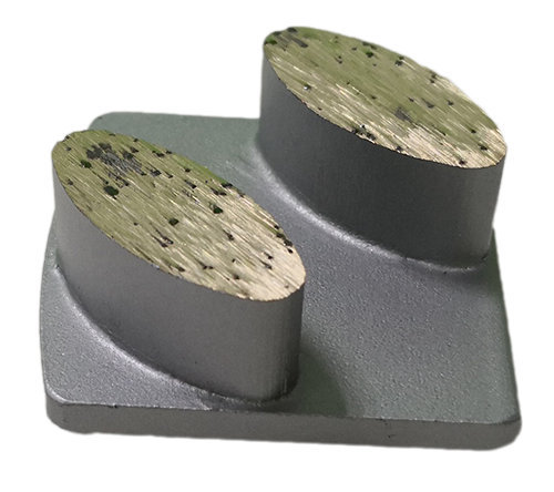 Husqvarna Metal Bond Grinding Tool for Concrete Floor – Elliptical Segments