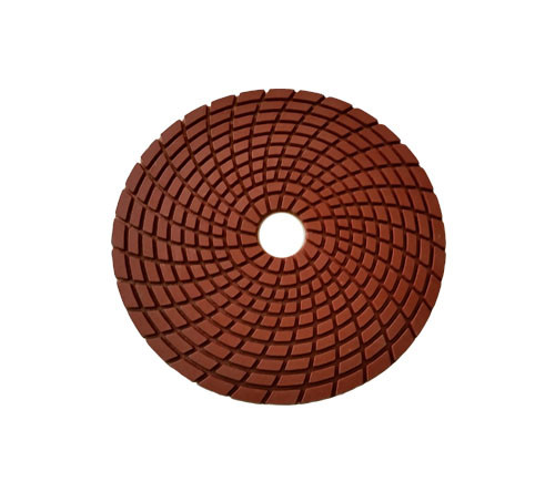 4-inch Spiral Wet Diamond Flexible Polishing Pad-Professional Quality