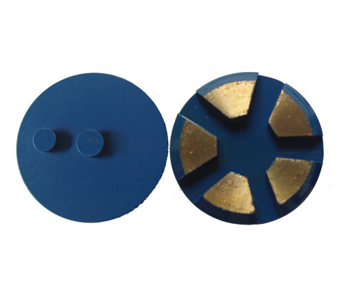 STI Metal Bond Diamond Floor Discs with 5 BIG segments–Double Post
