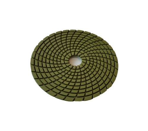 5-inch Spiral Wet Diamond Flexible Polishing Pad-Professional Quality