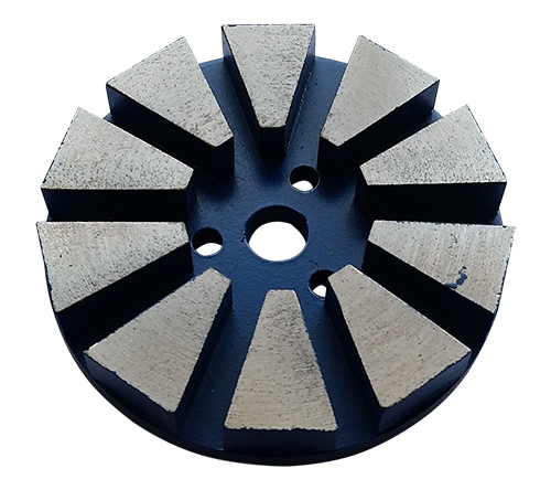 4-inch Metal Diamond Floor Grinding Discs–Velcro Backed
