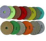 5-inch Honeycomb Dry Diamond Flexible Polishing Pad-Professional Quality