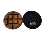 3-inch Resin Bond Floor Polishing Pads-Typhoon Style-DRY Polishing-Professional Quality