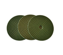 5-inch Wet Diamond Flexible Polishing Pad-Lattice-Professional Quality