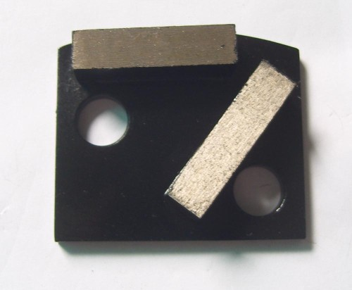Polar Magnetic Grinding Head - Double Rectangle Segments