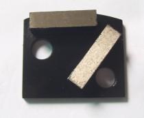 Polar Magnetic Grinding Head - Double Rectangle Segments