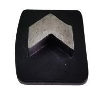 Husqvarna Redi-Lock System Metal Bond Tooling with Single Arrow Segment