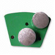 Trapezoid Diamond Grinding Heads with M6 holes–Double Round Segments
