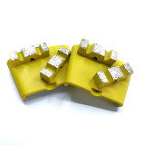 HTC EZ Change Grinding Head Diamond Tooling with Double W Segments-Professional Quality