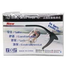 SMARTTOP Anti-Slip Eyeglass Ear Grips Hook Comfortable Silicone Elastic Eyeglasses Temple Tips Sleeve Retainer, Prevent Eyewear Sunglasses Spectacles Glasses Slipping,Sports Eyewear 10 Pairs (S-22 Packing)
