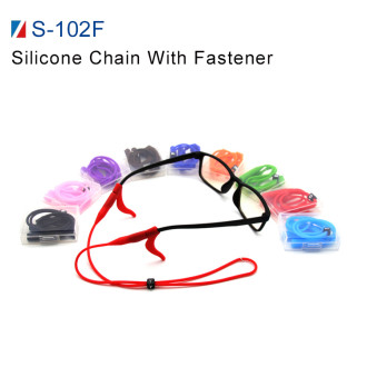 Silicone Chain With Fastener(S-102F)