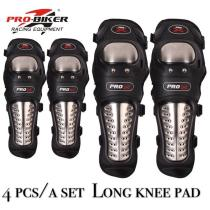PRO-BIKER 4Pcs/Set Elbow Knee Pads Knee Protector