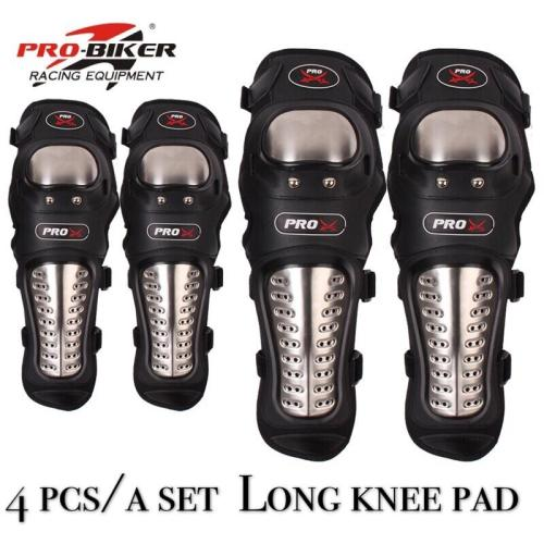 PRO-BIKER 4Pcs/Set Elbow Knee Pads Knee Protector