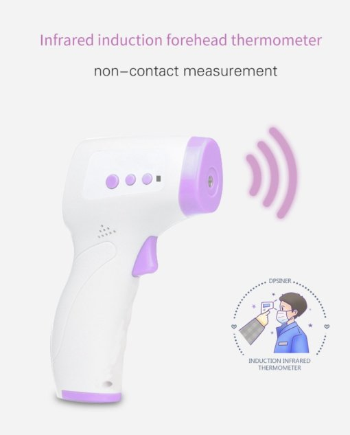 No-Contact Digital Forehead Ear Thermometer