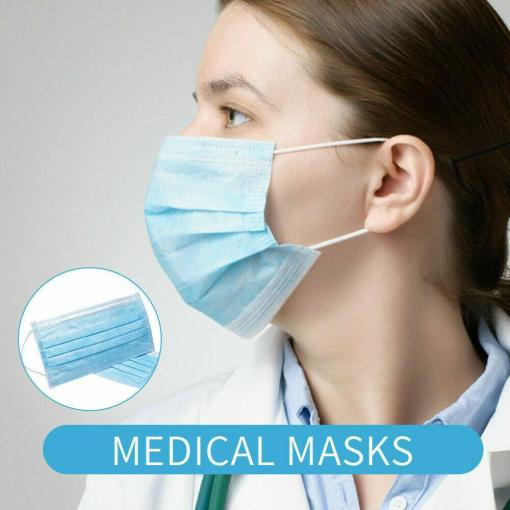 3-Ply Disposable Surgical Medical Face Mask