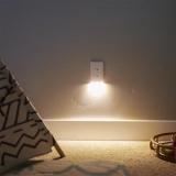 Outlet Wall Plate With LED Night Lights-No Batteries Or Wires [UL FCC Certified]