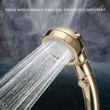 3 In 1 High Pressure Water Saving Showerhead