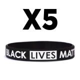 BLACK LIVES MATTER Silicone Bracelet (IT'S TIME FOR CHANGE!)